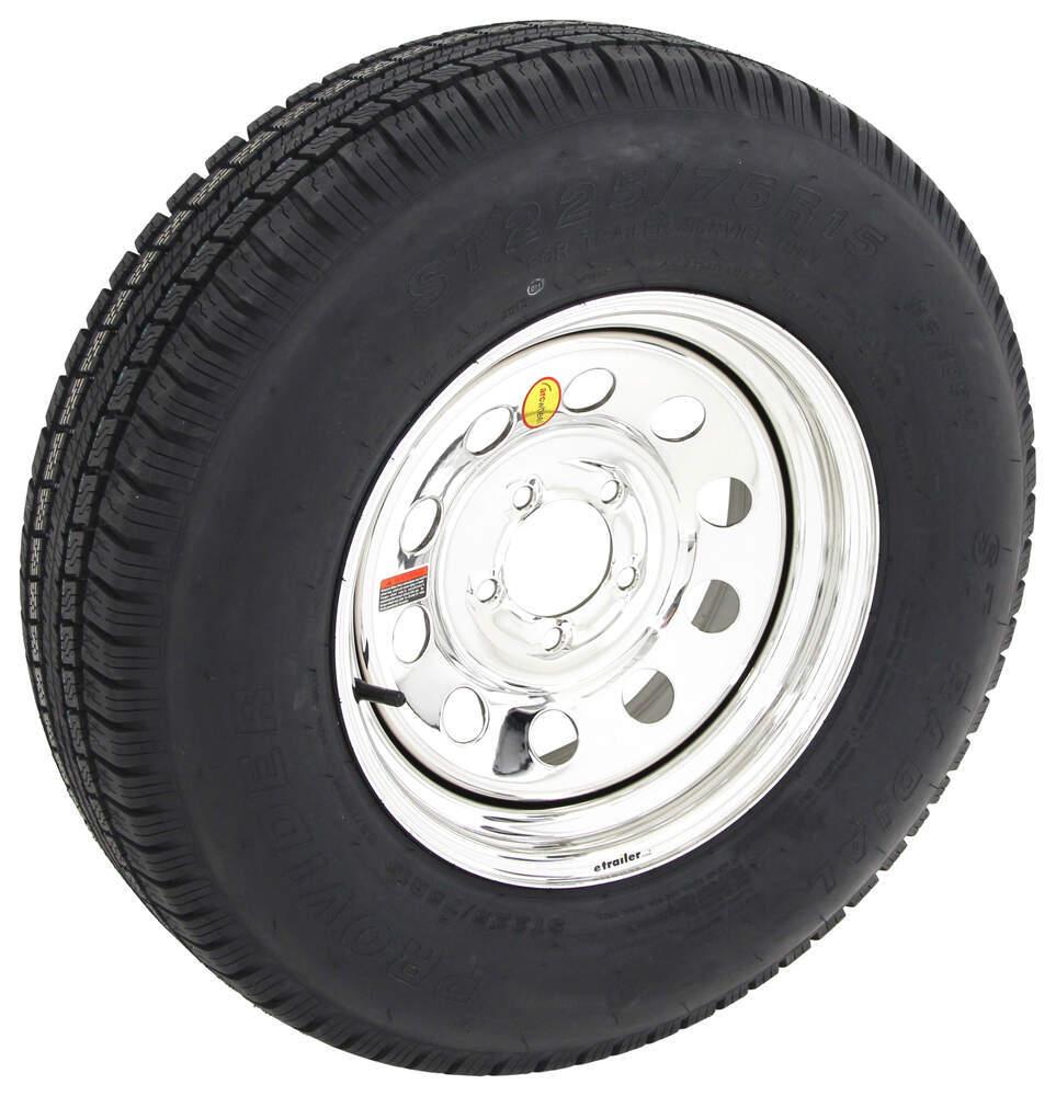 provider str radial tire   steel mod wheel     lr  silver pvd finish