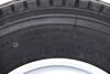 "Provider 235/75R17.5 Radial Tire w/ 17-1/2"" White Dual Wheel - Offset - 10 on 8-3/4 - LR J 17-1/2 Inch A235J-10"