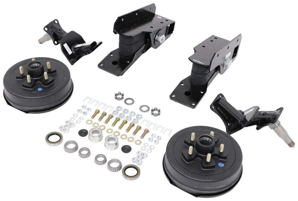 Timbren Axle-Less Trailer Suspension System w Electric Brake Hubs