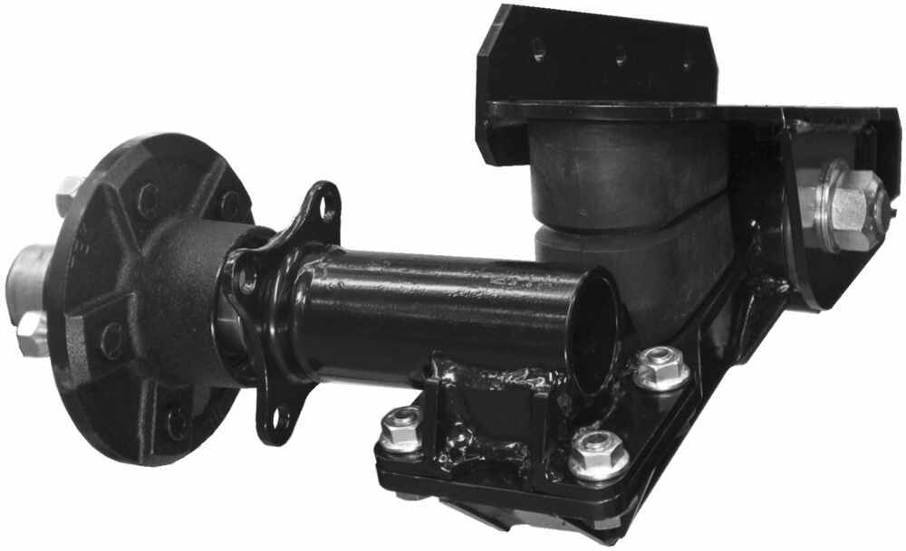 Trailer Hubs And Spindles : Timbren axle less trailer suspension system w hubs