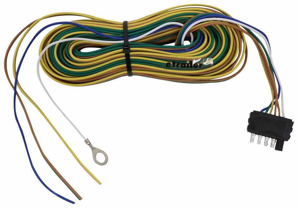 40 Ft 5-Way Trailer Wiring Harness - Wishbone Style - 30