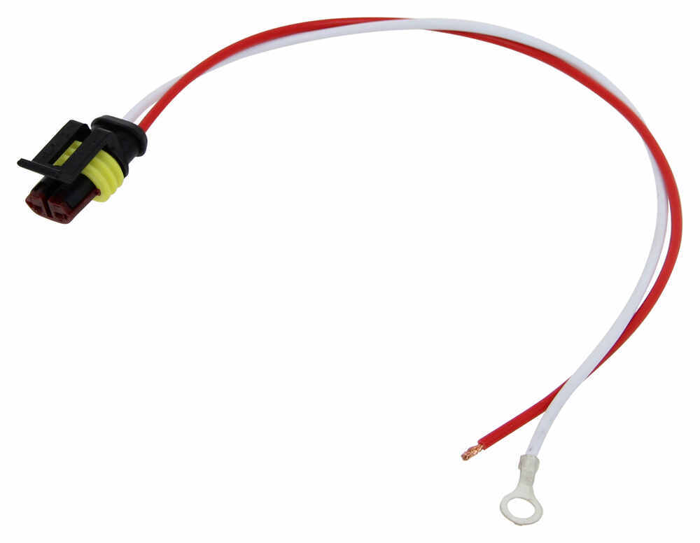 2-Wire Pigtail for Optronics Lights - Weathertight Plug ...