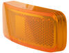 Replacement Amber Lens for MC44 Series and BA44 Series Trailer Lights Rectangle A44AB