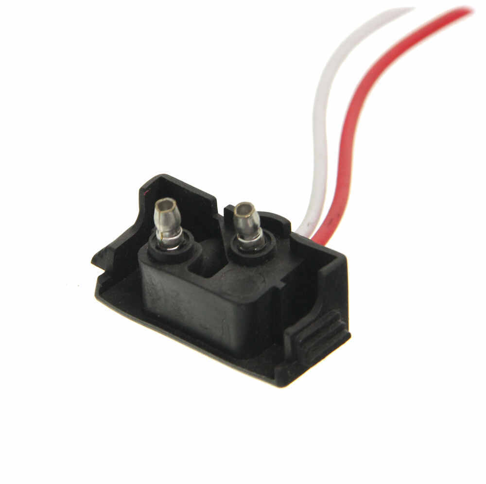Right angle wire pigtail for optronics trailer lights