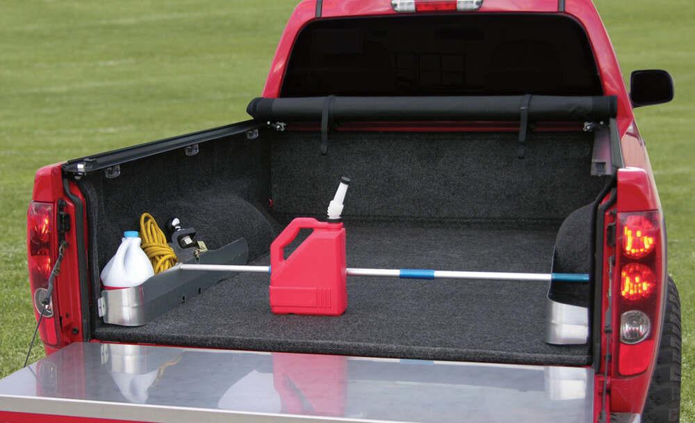 Chevrolet Silverado Access Ez Retriever And G Galvanized Aluminum Truck Bed Storage Pockets