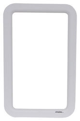 Valterra Replacement Window Frame for RV Entry Doors - Exterior - White