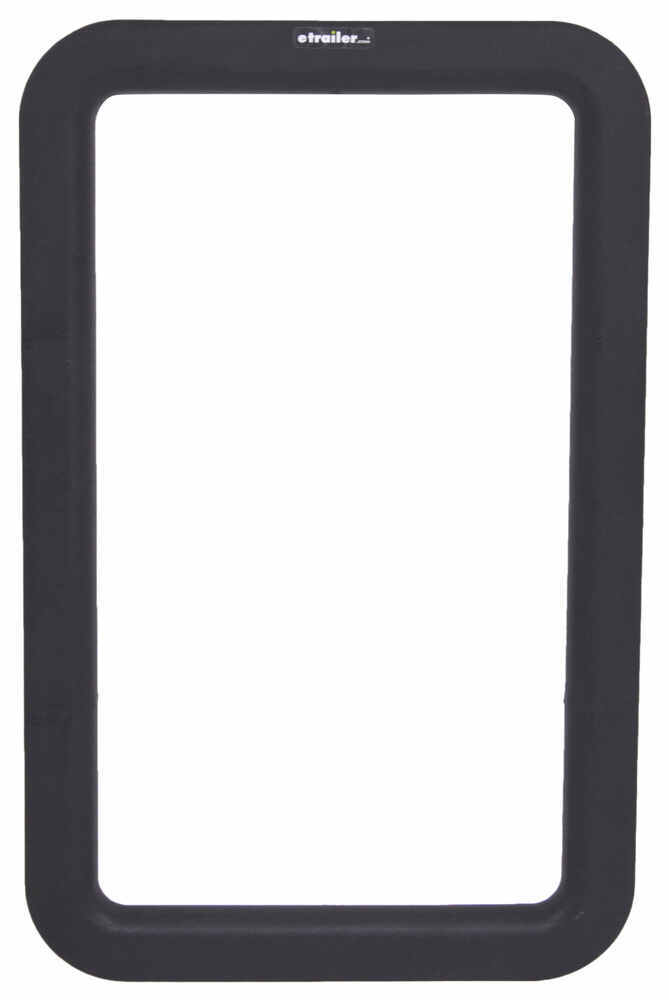 Valterra Replacement Window Frame for RV Entry Doors - Exterior - Black Window Parts A77008
