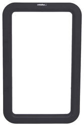 Valterra Replacement Window Frame for RV Entry Doors - Exterior - Black