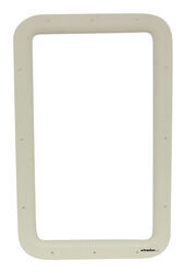 Valterra Replacement Window Frame for RV Entry Doors - Interior - Ivory