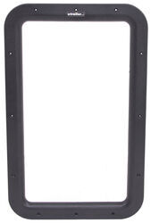 Valterra Replacement Window Frame for RV Entry Doors - Interior - Black