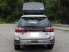SportRack SkyLine XL Cargo Box - Roof Mount - 18 Cubic Feet Passenger Side Access SR7095 on 2001 Subaru Outback