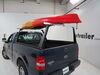 Adarac Custom Truck Bed Ladder Rack - Steel with Aluminum Crossbars - 500 lbs No-Drill Application A70450