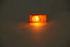 Optronics Trailer Clearance and Side Marker Light - Submersible - Rectangle - Amber Lens 2-1/2L x 1W Inch A91AB