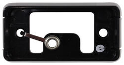 Mounting Bracket for Optronics 90 Series or 91 Series Trailer Lights - Self-Grounding - Black