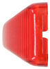 Optronics Trailer Clearance and Side Marker Light - Submersible - Incandescent - Red Lens Rectangle A91RB