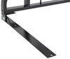 Aries Headache Rack - Semi-Gloss Black Powder Coated Steel With Load Stops AA111000