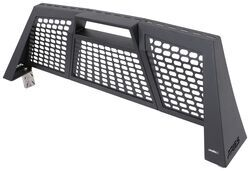 Aries Switchback Headache Rack - Black Powder Coated Aluminum