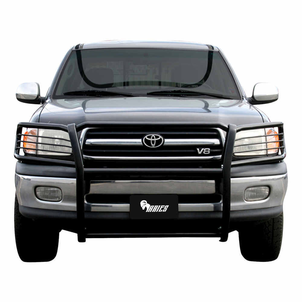 2001 Toyota Tundra Aries Grille Guard 1 Piece Black Powder Coated Steel