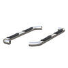 """Aries Round Nerf Bars - 3"""" Diameter - Polished Stainless Steel 3 Inch Width AA205039-2"""