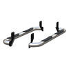 """Aries Round Nerf Bars - 3"""" Diameter - Polished Stainless Steel Cab Length AA205039-2"""