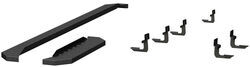 "Aries RidgeStep Running Boards w/ Custom Installation Kit - 6-1/2"" Wide - Powder Coated Steel"