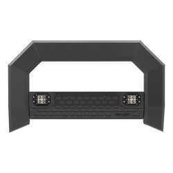 "Aries AdvantEdge Bull Bar with Integrated LEDs - 5-1/2"" Tubing - Black Powder Coated Aluminum"