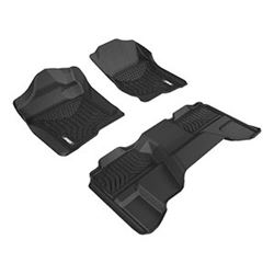 Aries Automotive 2007 Chevrolet Silverado New Body Floor Mats
