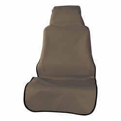 Aries Automotive Seat Defender Bucket Seat and Headrest Protector - Universal Fit - Brown