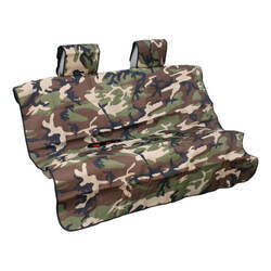 Aries Automotive Seat Defender Bench Seat Protector with Headrest Covers - Universal Fit - Camo