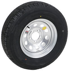 "Contender ST205/75R14 Radial Trailer Tire w/ 14"" Galvanized Mod Wheel - 5 on 4-1/2 - LR C"