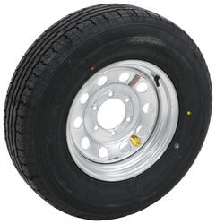 "Contender ST225/75R15 Radial Trailer Tire w/ 15"" Galvanized Mod Wheel - 6 on 5-1/2 - LR D"