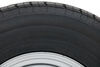 taskmaster tires and wheels tire with wheel 15 inch contender st225/75r15 radial trailer w/ silver mod - 6 on 5-1/2 load range d