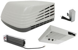 Advent Air RV Air Conditioner w/Vent, Start Capacitor, and Heat Strip, White