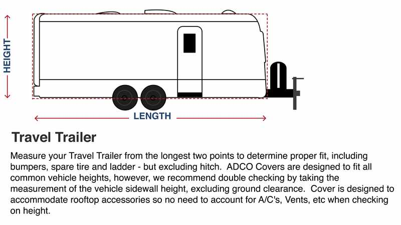 Adco How to Measure Travel Trailer