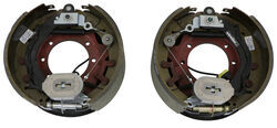 "Electric Trailer Brake Kit w/ Dust Shields - Self-Adjusting - 12-1/4"" - Left/Right Hand - 12K"