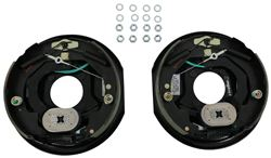"Electric Trailer Brake Kit - Self-Adjusting - 10"" - Left and Right Hand Assemblies - 3,500 lbs"