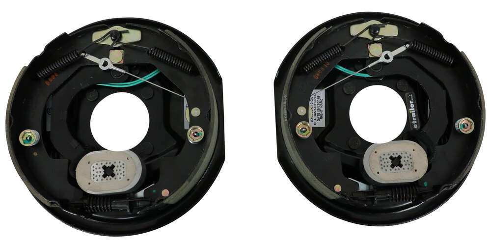 "Electric Trailer Brake Kit - Self-Adjusting - 10"" - Left and Right Hand Assemblies - 3,500 lbs 3500 lbs Axle AKEBRK-35-SA"
