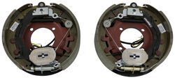 "Electric Trailer Brake Kit w/ Dust Shields - Self-Adjusting - 12-1/4"" - Left/Right Hand - 8K"