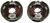 etrailer trailer brakes brake set 12-1/4 x 3-3/8 inch drum akebrk-8