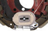 "Electric Trailer Brake with Dust Shield - Self-Adjusting - 12-1/4"" - Left Hand - 8,000 lbs Self Adjust AKEBRK-8L"