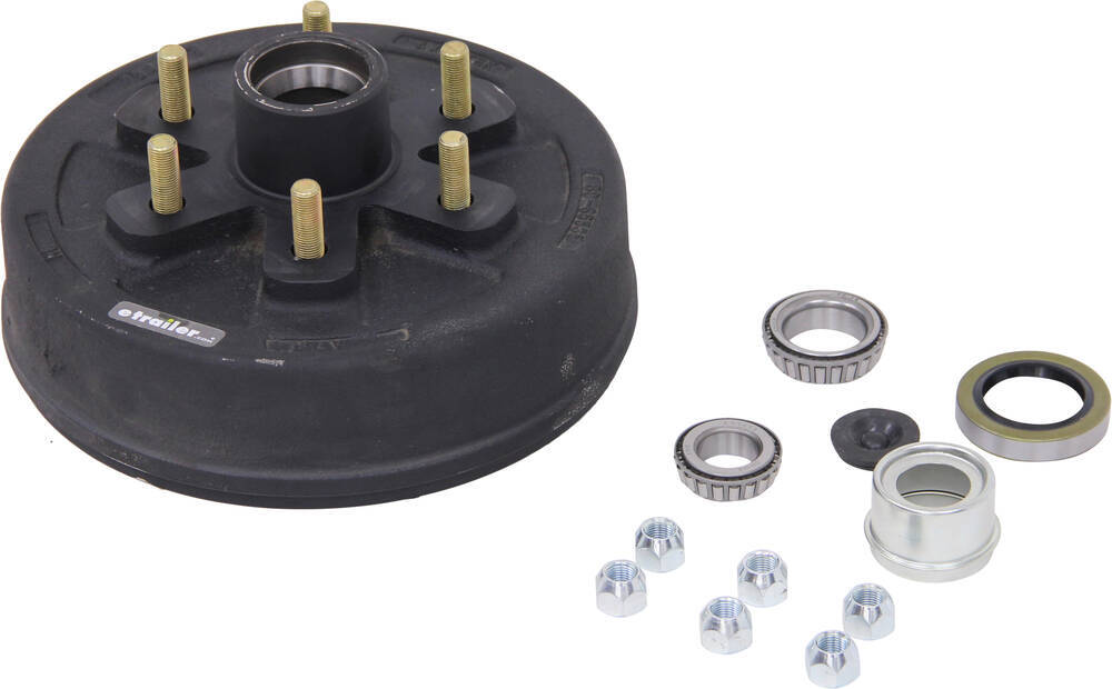 AKHD-655-35-EZ-K - L44649 etrailer Trailer Hubs and Drums