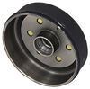 "Trailer Hub and Drum Assembly - 3,500-lb Axles - 10"" Diameter - 6 on 5-1/2 Standard AKHD-655-35-K"