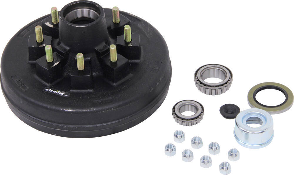 etrailer 16 Inch Wheel,16-1/2 Inch Wheel,17 Inch Wheel,17-1/2 Inch Wheel Trailer Hubs and Drums - AKHD-865-7-2-EZ-K