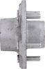 Trailer Idler Hub Assembly for 3,500-lb E-Z Lube Axles - 5 on 4-1/2 - Galvanized L68149 AKIHUB-545-35-G-EZ-K