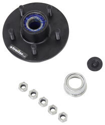 Trailer Idler Hub Assembly for 3,500-lb E-Z Lube Axles - 5 on 4-1/2 - Pre-Greased