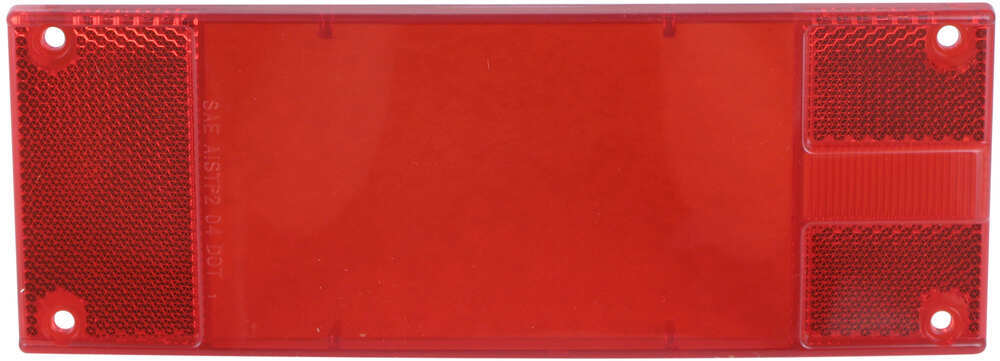 Replacement Tail Light Lens for STL16, STL17,STL18 and STL19 3 Inch Wide AL16RB