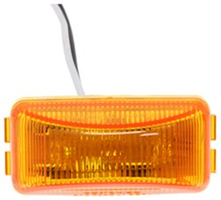 Optronics Mini Thin Line Sealed LED Marker/Clearance Light - PC Rated - Amber
