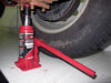 "Powerbuilt Bottle Jack w/ Storage Case - 7-7/8"" to 15-1/2"" Lift - 12,000 lbs 15-1/2 Inch Lift ALL640407"