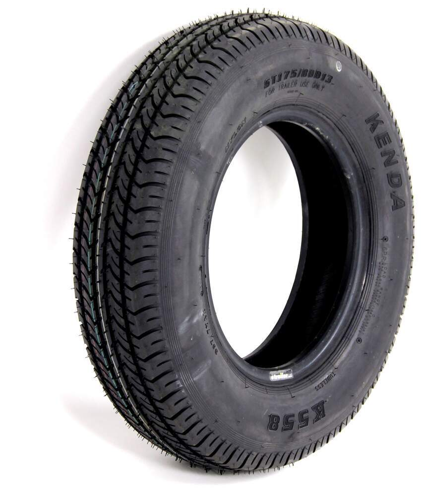 Kenda ST175/80D13 Bias Trailer Tire - Load Range C 13 Inch AM1ST51