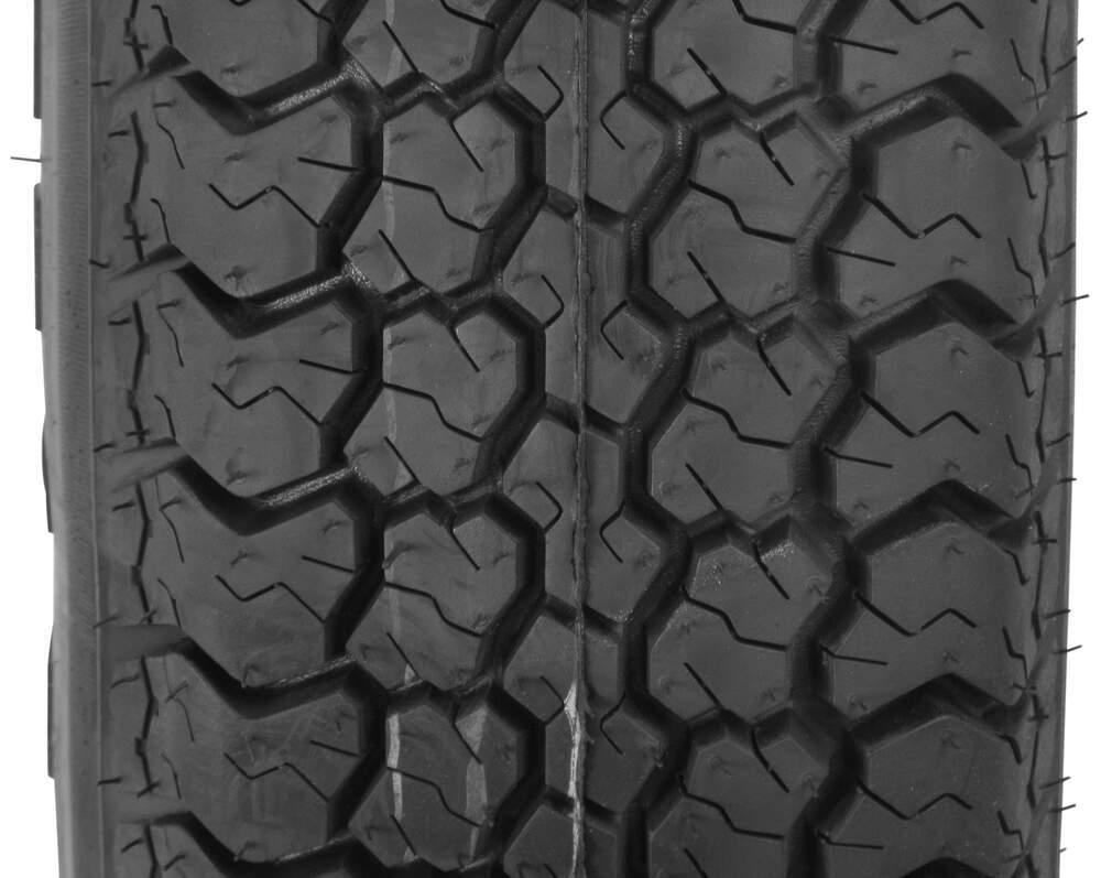 "LOADSTAR ST185//80D-13/"" Tire /& Galvanized Modular Rim Load Range D"